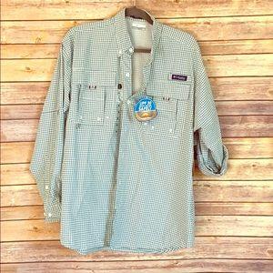Men's Columbia UPF 40 button down shirt